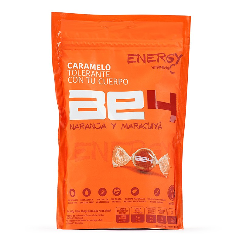 BE4 ENERGY. Naranja y maracuyá