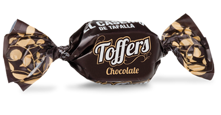 Toffers de chocolate